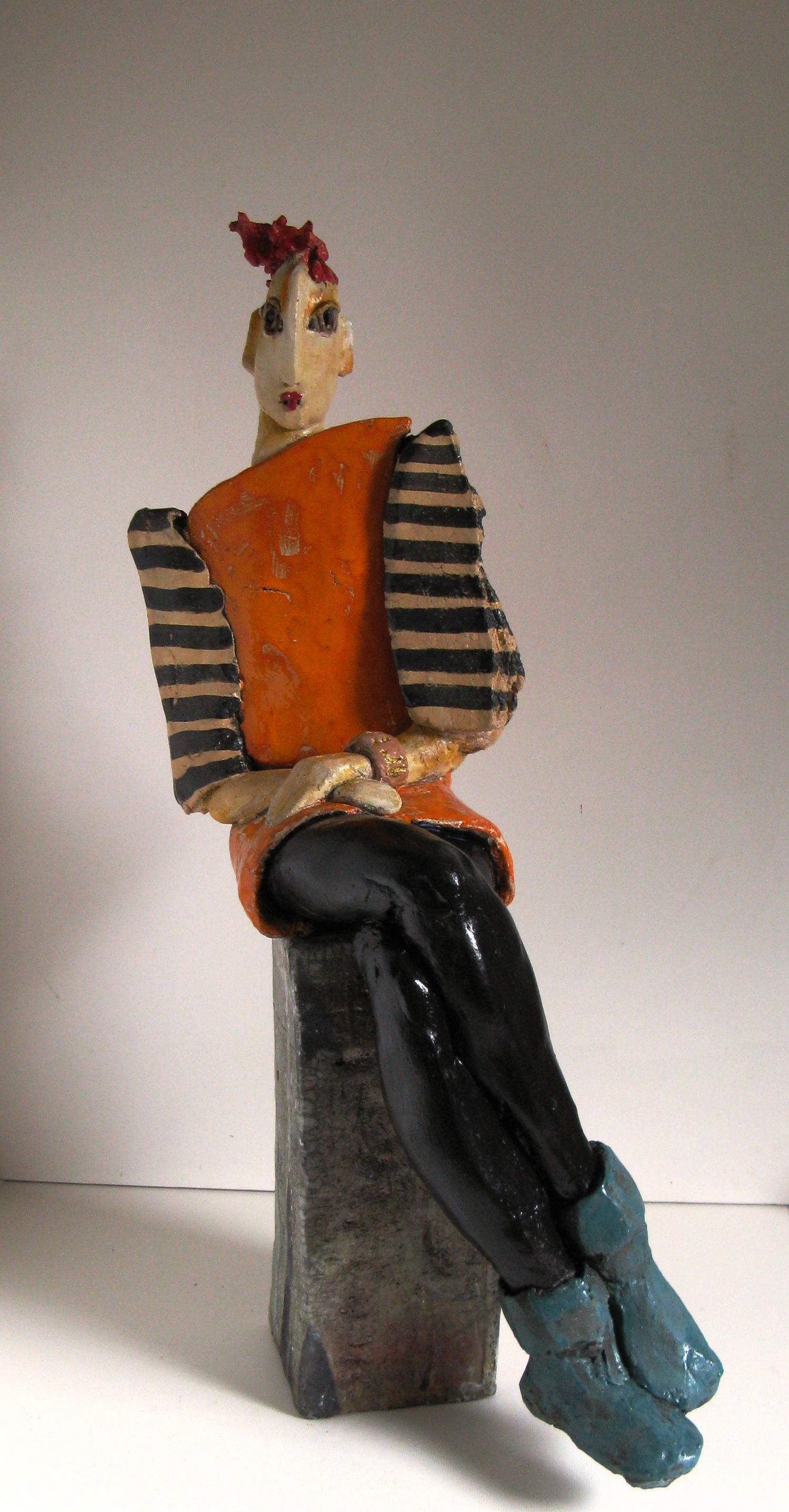 madame-keramik-glasiert-und-patiniert-h67cm-2011_0