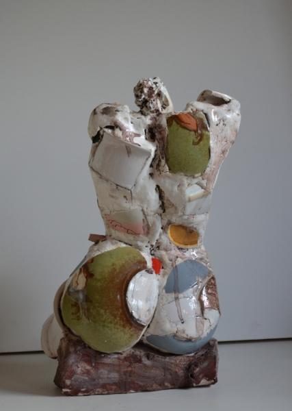 sitting-girl-2013-keramikcollage-h-47cm