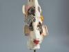 Hals-über-Kopf-2020-keramik-Glasur-auf-Metallsockel-43cm-x14cm-x15cm